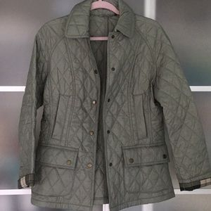 Barbour quilted rain jacket 😍